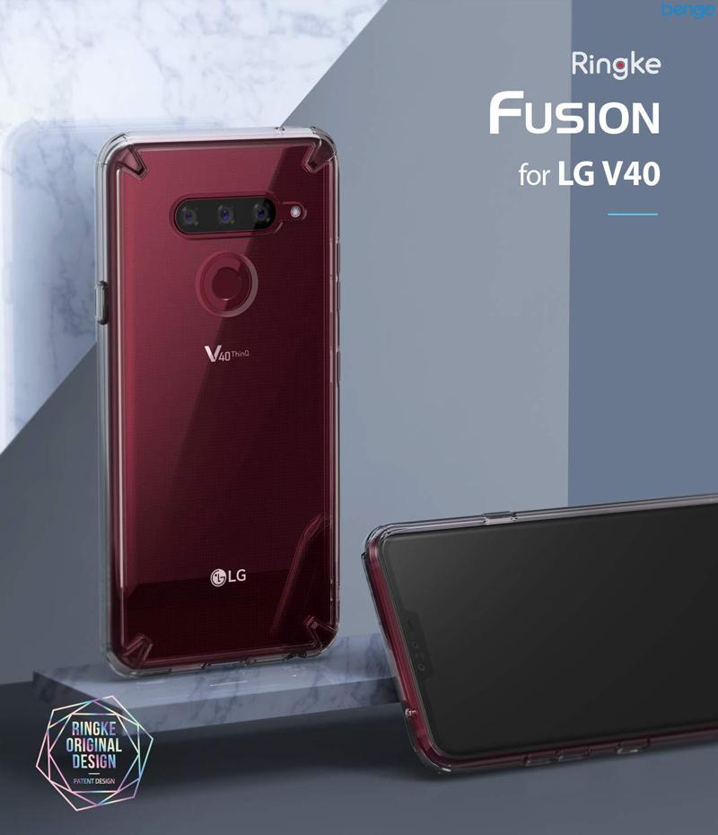 Ốp lưng LG V40 ThinQ Ringke Fusion