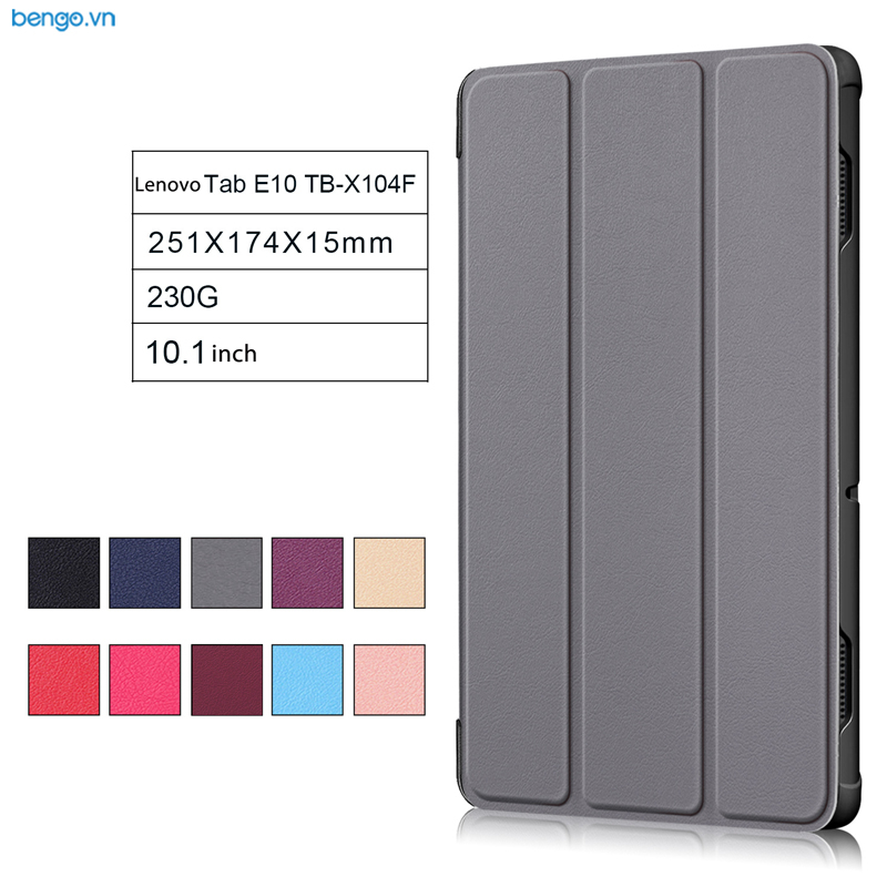 Bao da Lenovo Tab E10 TB-X104F Smartcover