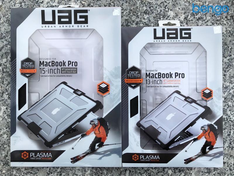 Vỏ ốp bảo vệ MacBook Pro 13″ UAG Plasma - ICE (4th Generation)