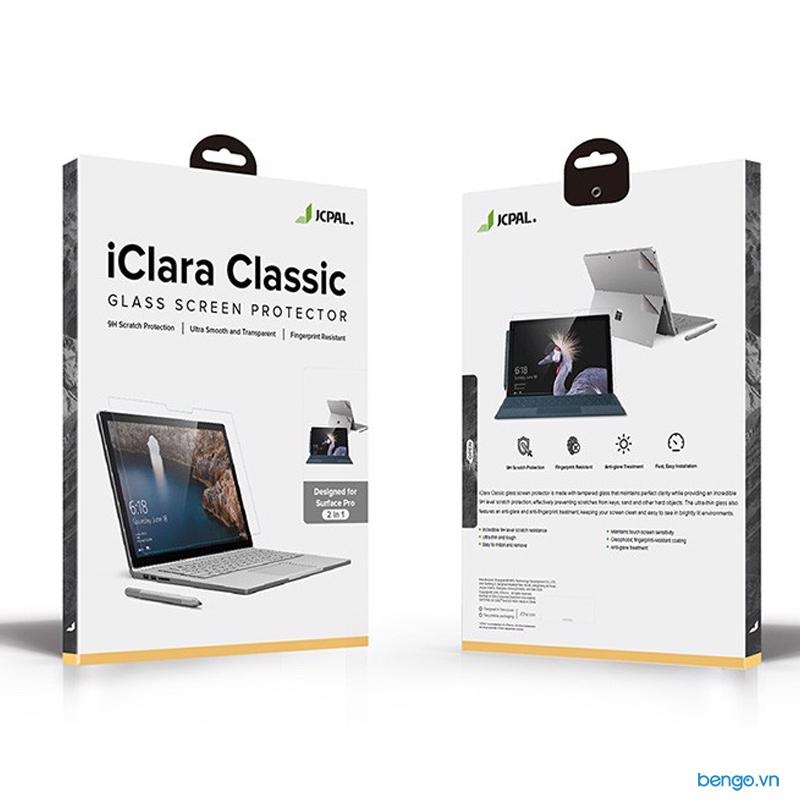 Dán màn hình cường lực Microsoft Surface Pro 6/5/4 JCPAL iClara Classic