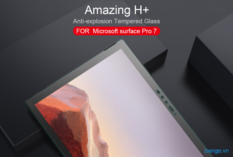 Kính cường lực Microsoft surface Pro 7 Nillkin Amazing H+