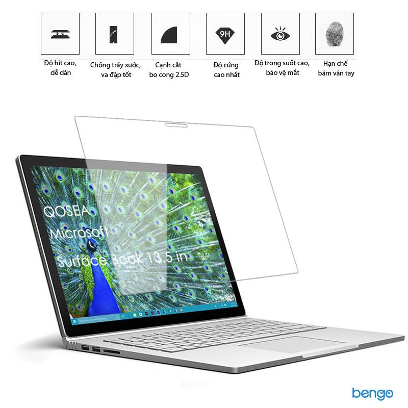 Dán màn hình cường lực Microsoft Surface Book 9H+