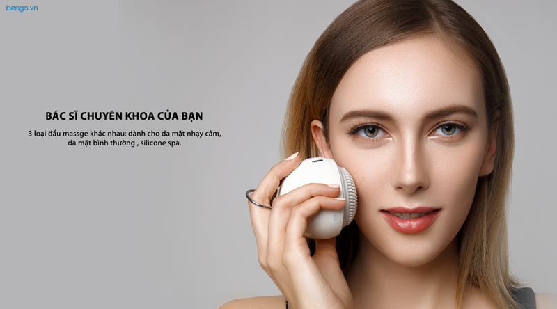 Máy Clean và Massage mặt Mipow ANILLO Pro-Sonic