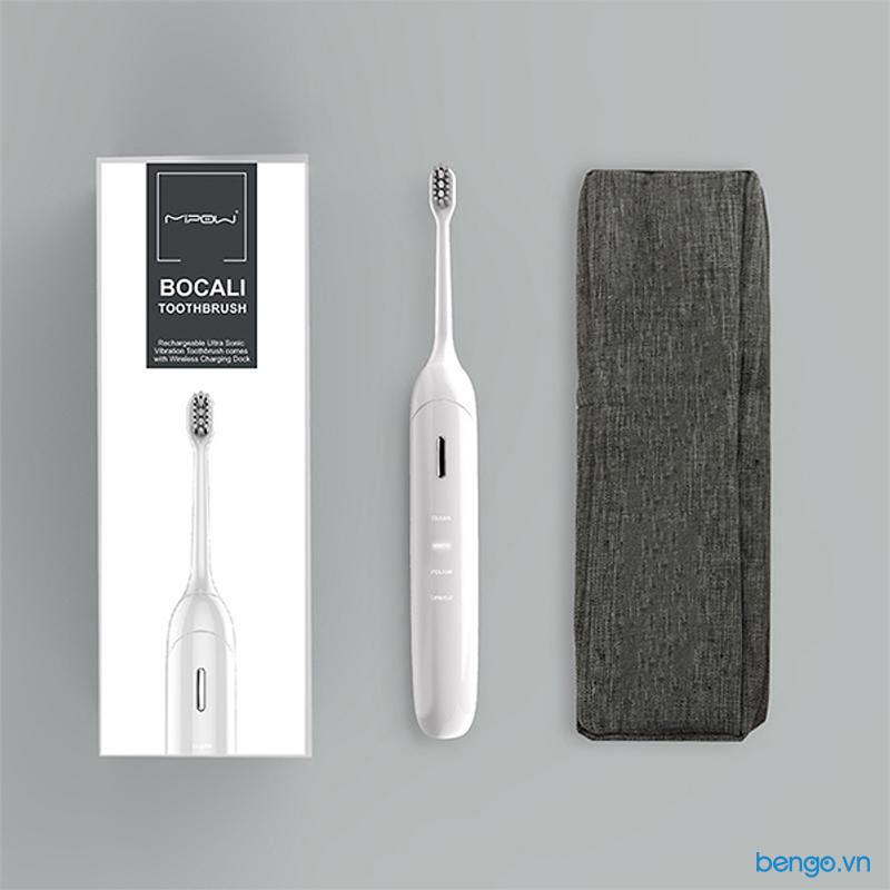 Bàn chải đánh răng điện thông minh Mipow BOCALI