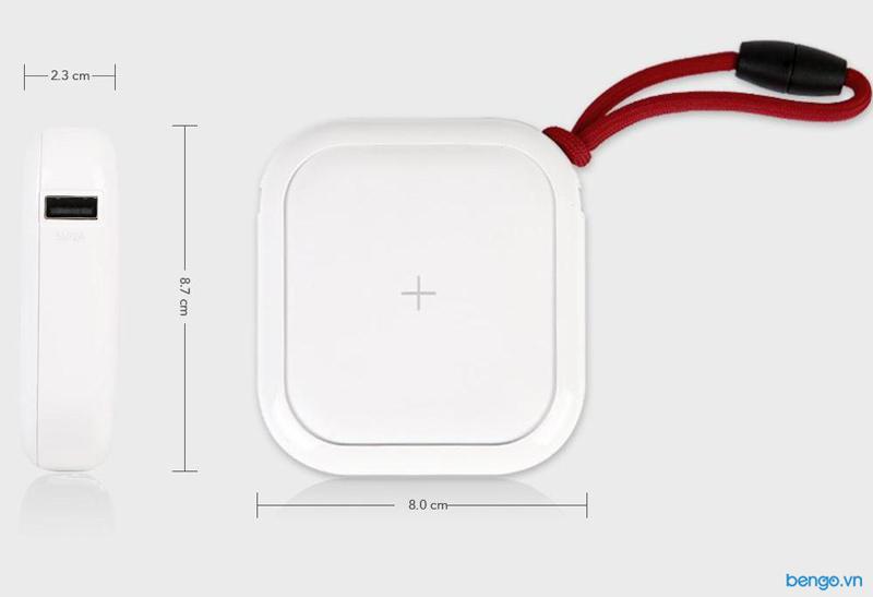 Pin dự phòng không dây MIPOW POWER CUBE X 10000+