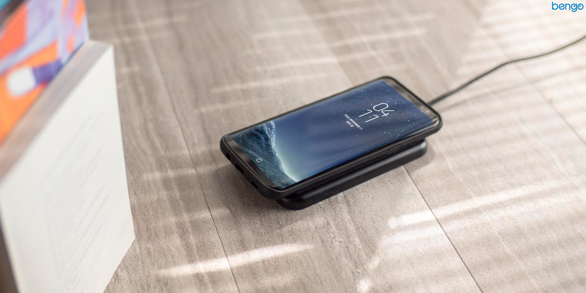 Charge Force Case & Powerstation Mini MOPHIE Samsung Galaxy S8
