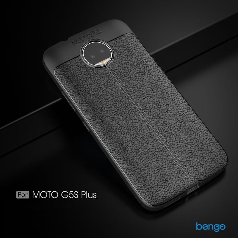 Ốp lưng Motorola Moto G5S Plus họa tiết giả da