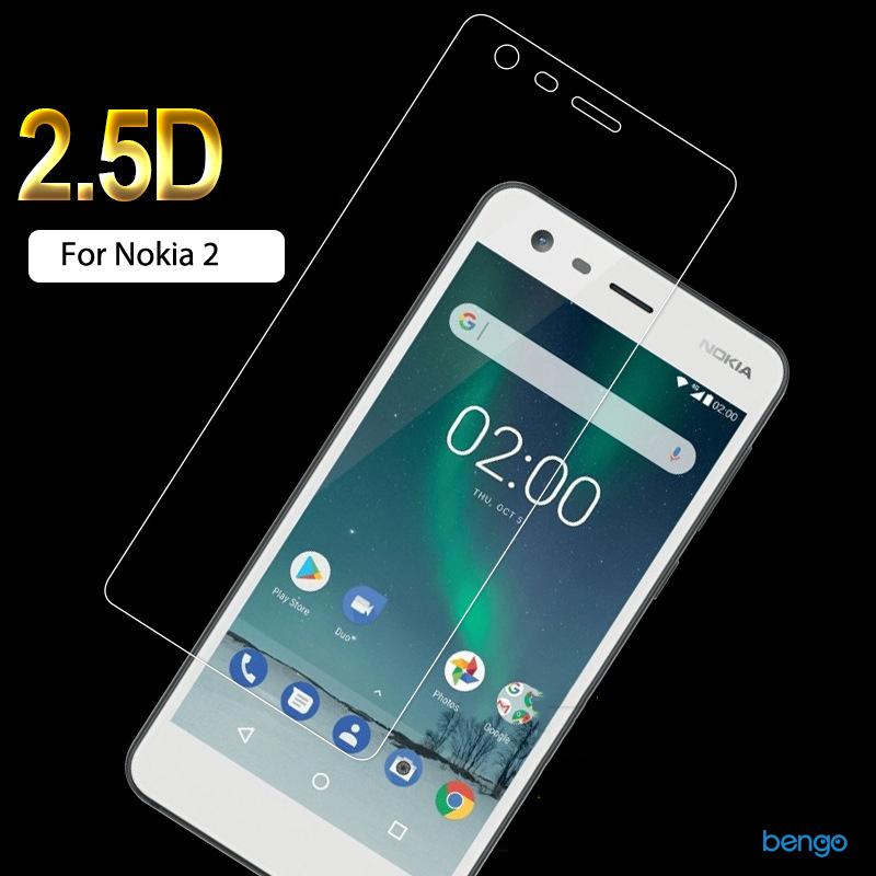 Dán màn hình cường lực Nokia 2 9H+ Pro