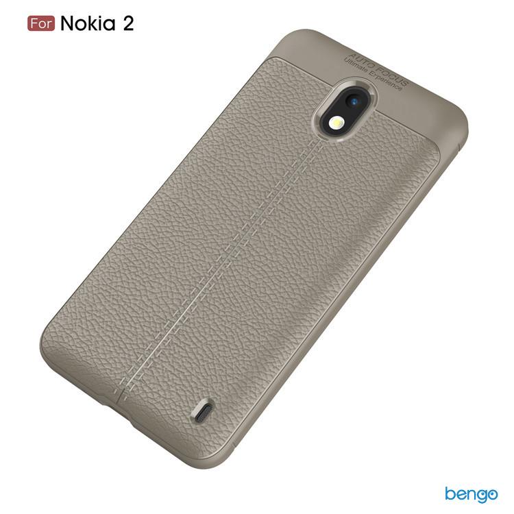 Ốp lưng Nokia 2 họa tiết giả da