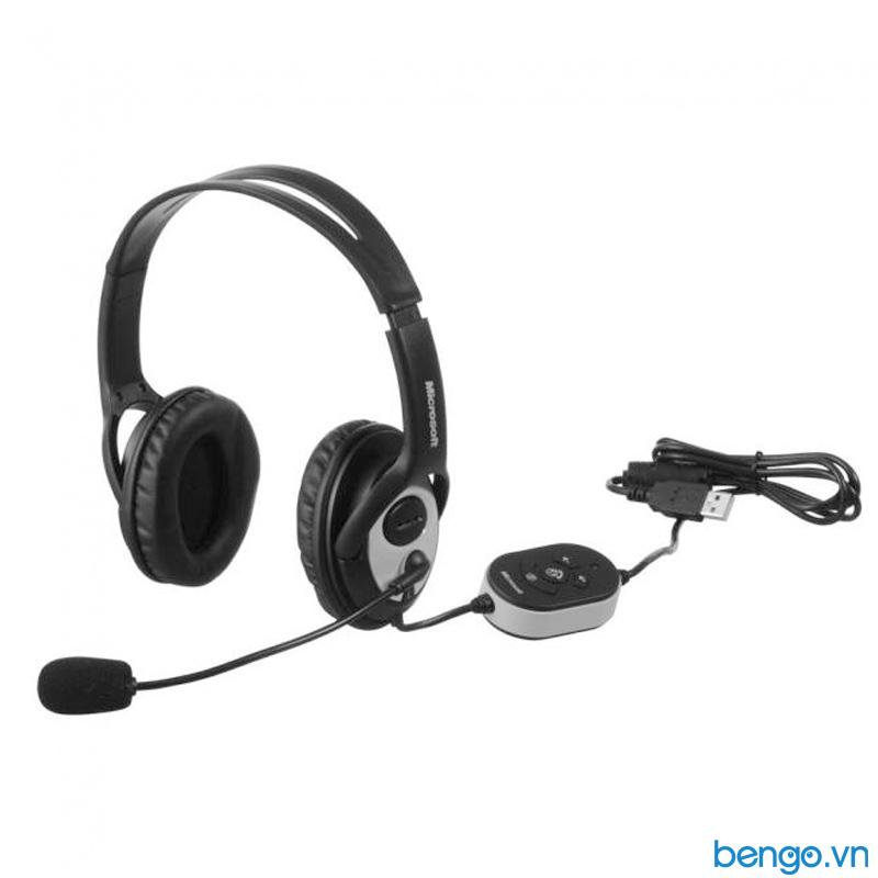 Tai nghe Microsoft LifeChat LX-3000 USB 2.0 - Đen - JUG-00017