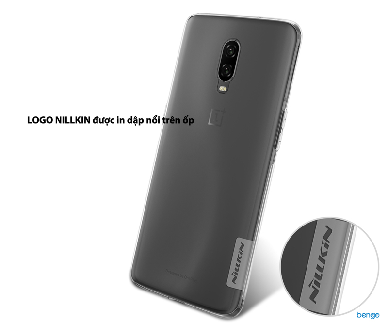 Ốp lưng OnePlus 6T Nillkin TPU Nature