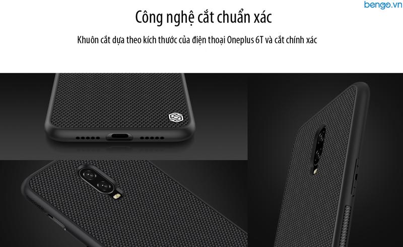 Ốp lưng OnePlus 6T Nillkin Textured