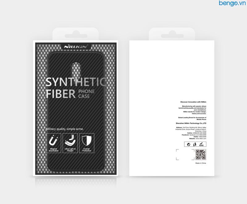 Ốp lưng Oneplus 6T Nillkin sợi tổng hợp (Synthetic fiber)
