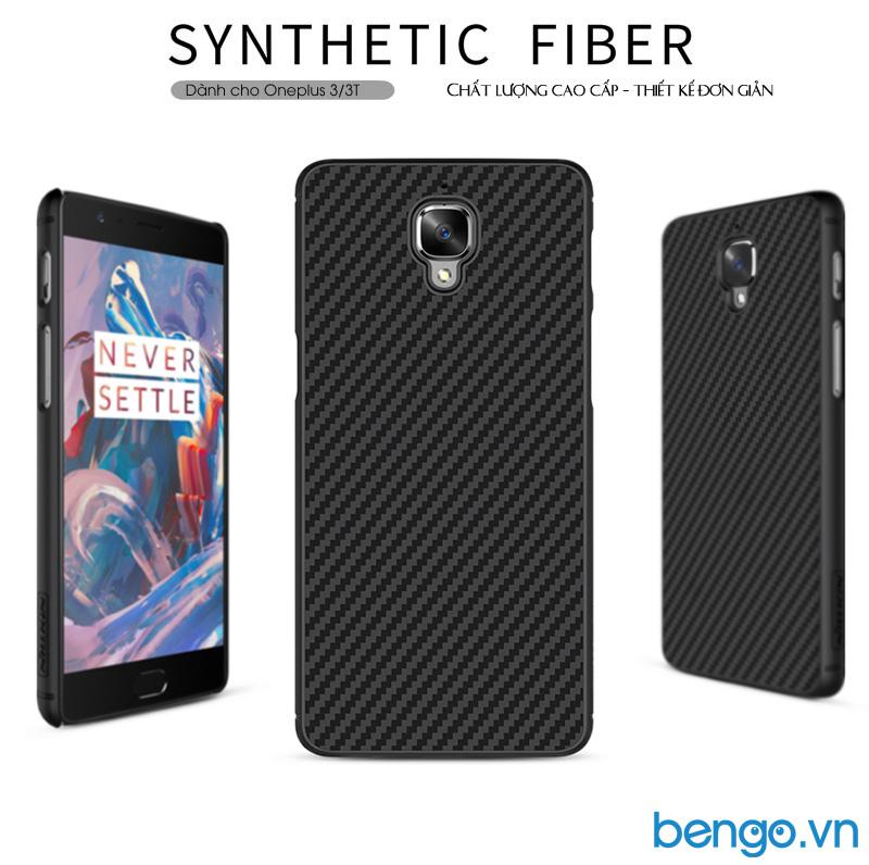 ốp lưng oneplus 3 (A3000)/3T sợi tổng hợp (Synthetic fiber)