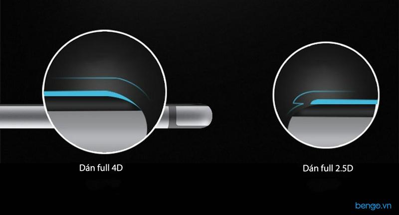 Dán cường lực Oneplus 5 4D Full màn hình