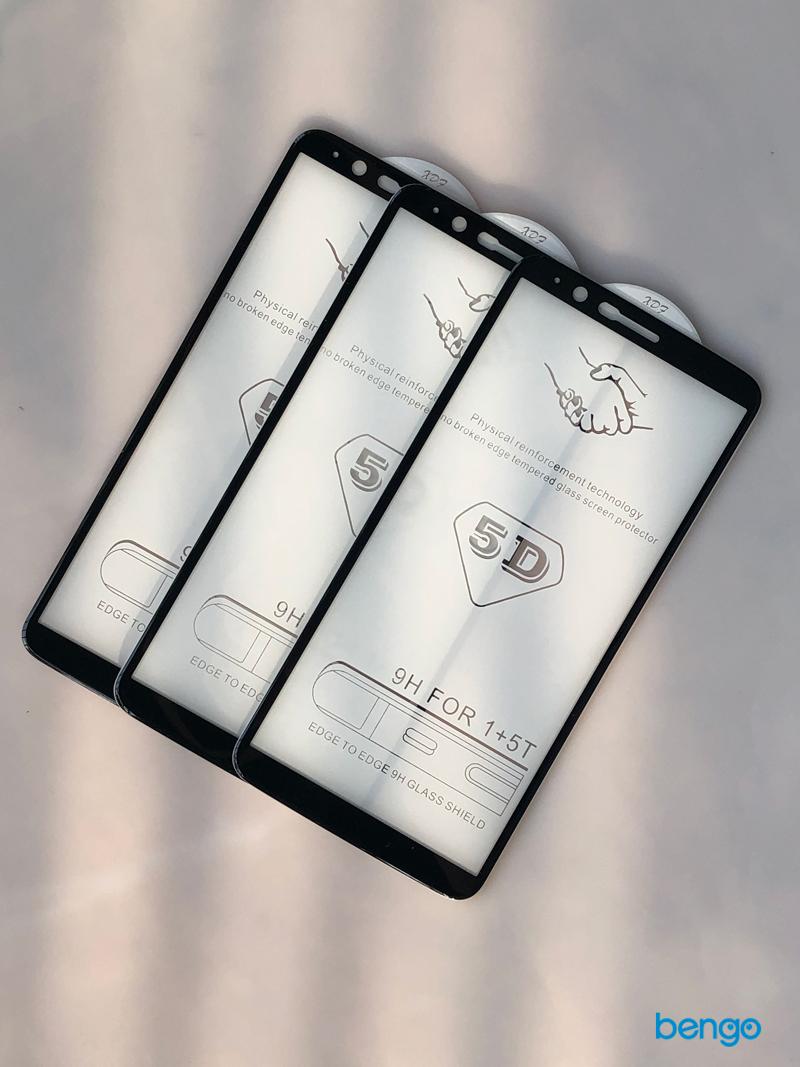Dán cường lực Oneplus 5T 4D full keo và từ tính
