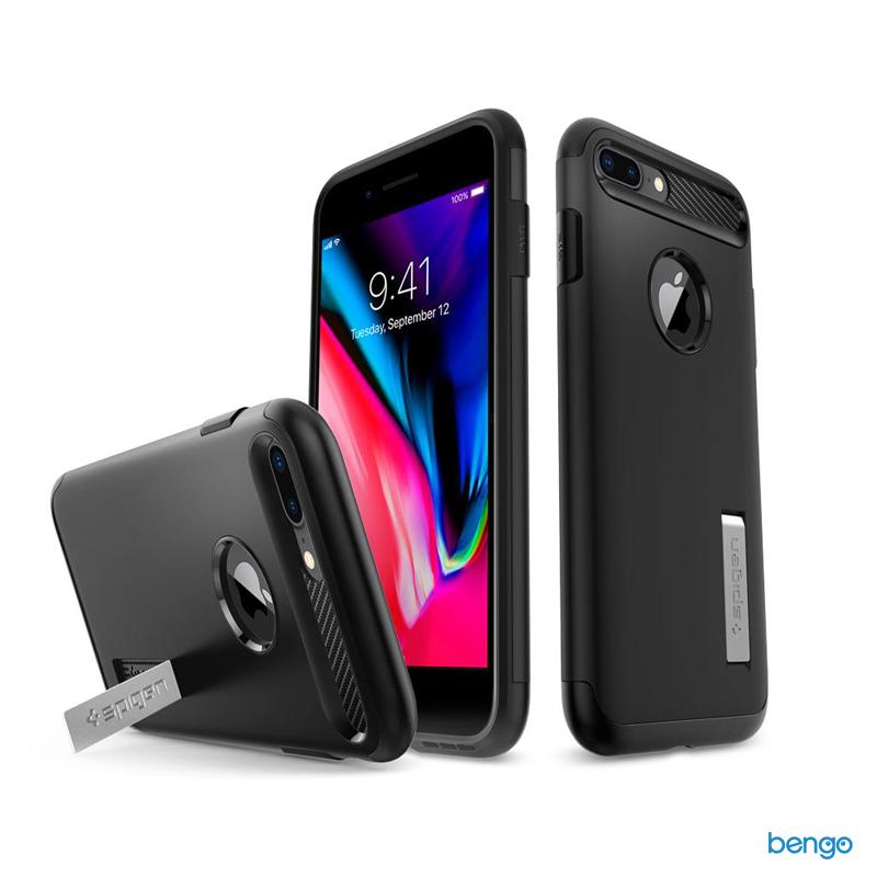 Ốp lưng iPhone 8/7 Plus SPIGEN Slim Armor