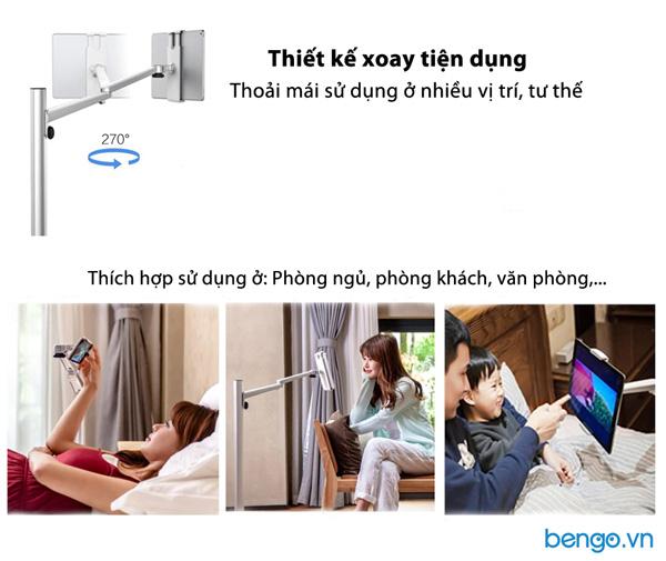 Giá đỡ điện thoại, tablet Floor Stand có thể điều chỉnh chiều cao - UP-6S