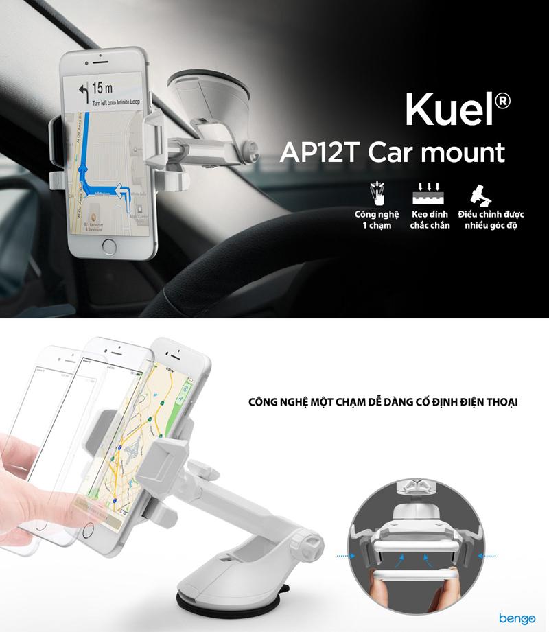 Đế giữ điện thoại trên ô tô Spigen Kuel AP12T