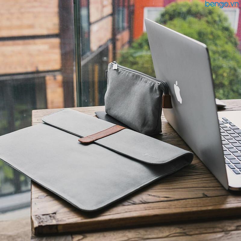"Túi chống sốc MacBook Air/Retina 13"" TOMTOC (USA) ENVELOPE + POUCH - A19-C01"