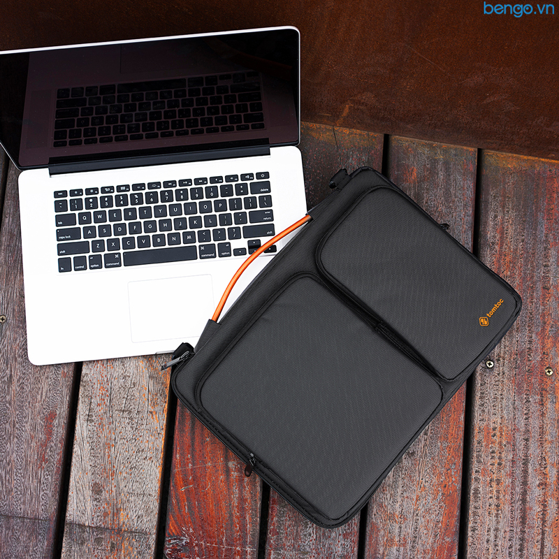 "Túi đeo chống sốc MacBook 13"" TOMTOC (USA) 360° Shoulder Bags - A42-C01"