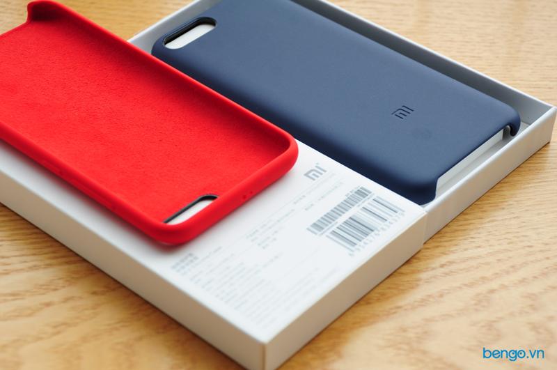 Ốp lưng dán da Xiaomi Mi 6 chính hãng cao cấp
