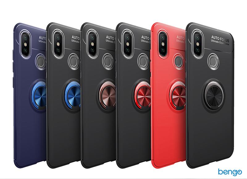 Ốp lưng Xiaomi Mi Max 3 Lenuo iRing Holder 360