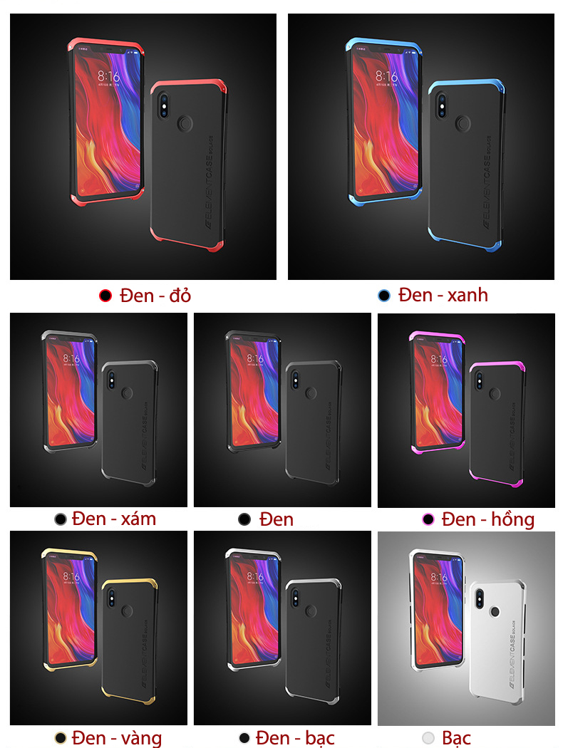 Ốp lưng Xiaomi Mi 8 SE ELEMENT CASE Solace