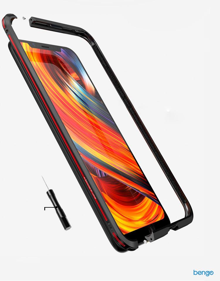 Viền kim loại Xiaomi Mi 8 Luphie Aluminum Metal