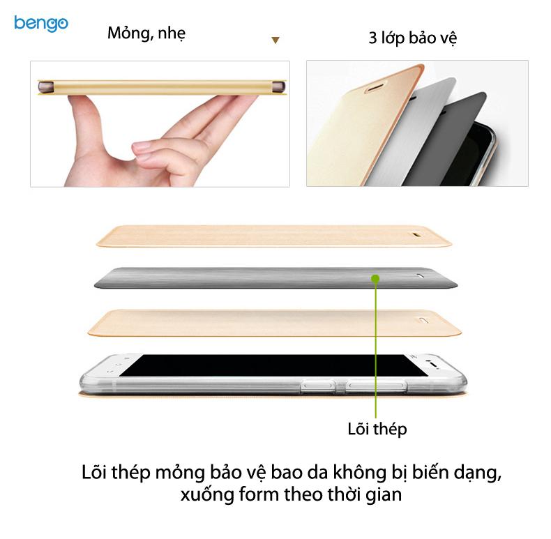 Bao da Xiaomi Mi Mix 2 hiệu MOFI Vintage Star