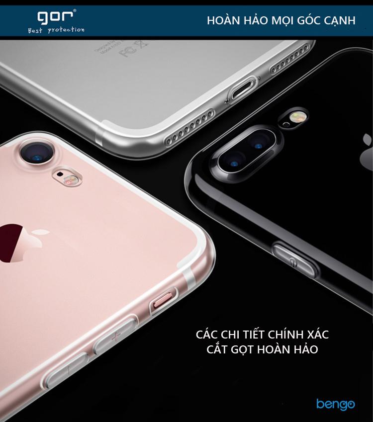 Ốp lưng Xiaomi Mi Mix 2 TPU dẻo siêu trong suốt GOR