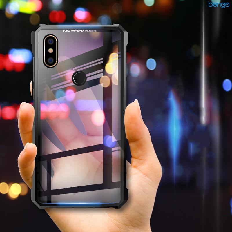 Ốp lưng Xiaomi Mi Mix 2s Fashion Case viền kim loại cao cấp