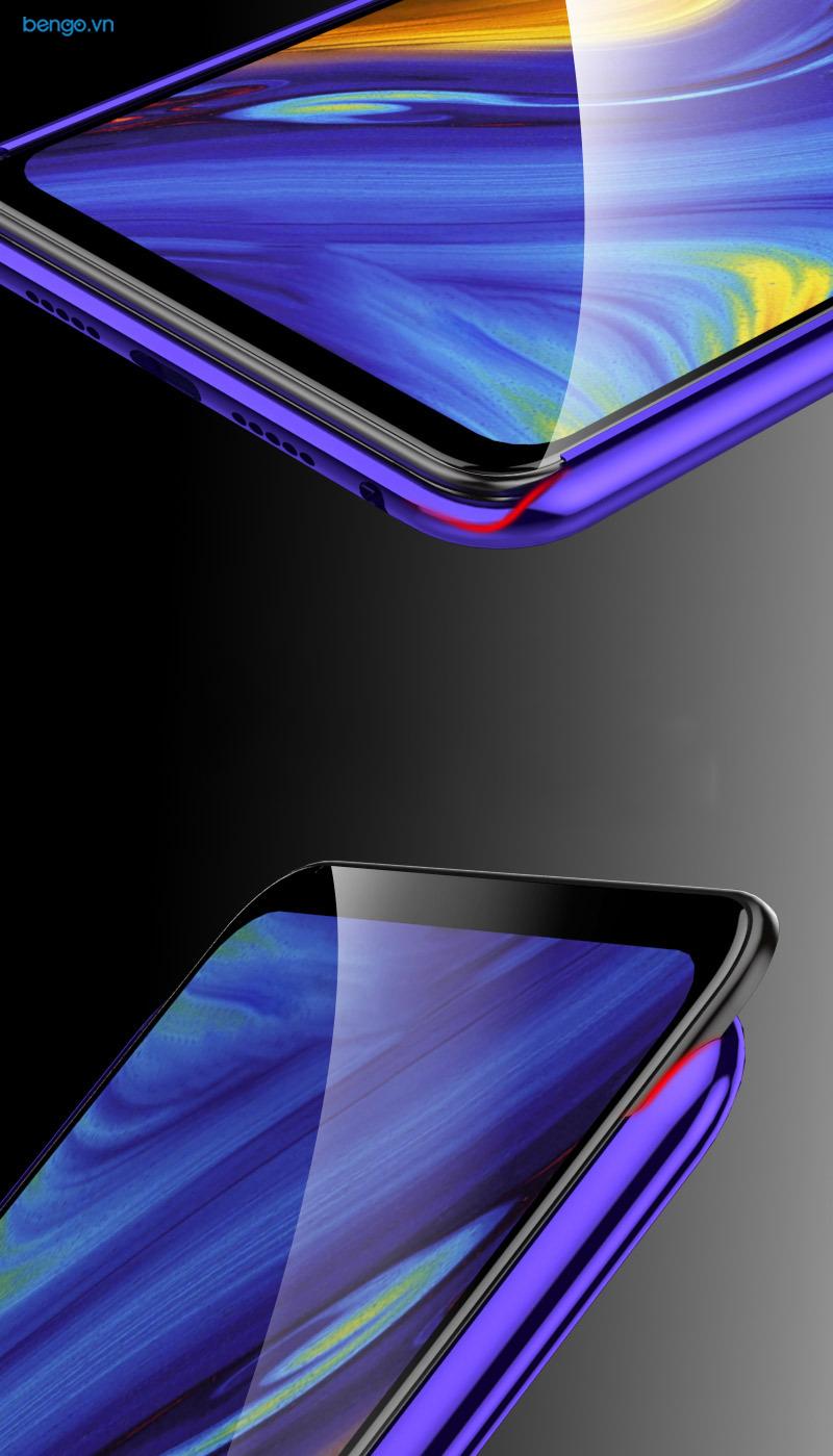 Ốp lưng Xiaomi Mi Mix 3 viền kim loại mặt lưng kính