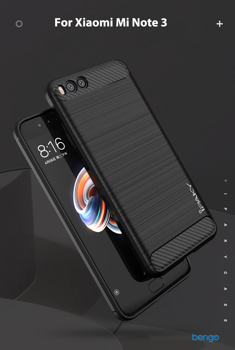Ốp lưng Xiaomi Mi Note 3 IPAKY Rugged Armor