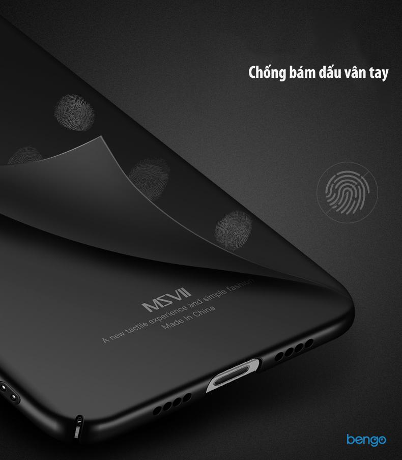 Ốp lưng Xiaomi Mi Note 3 MSVII nhựa Polycarbonate siêu mỏng