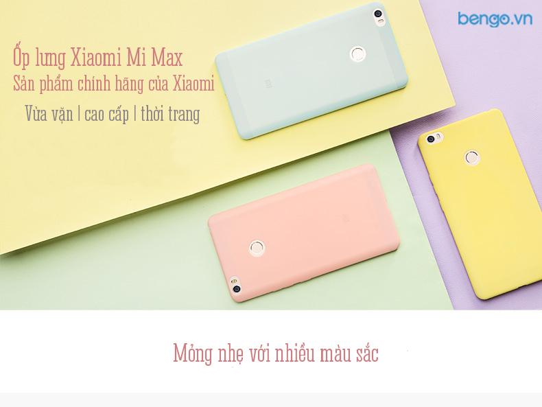 ốp lưng Xiaomi Mi Max chính hãng
