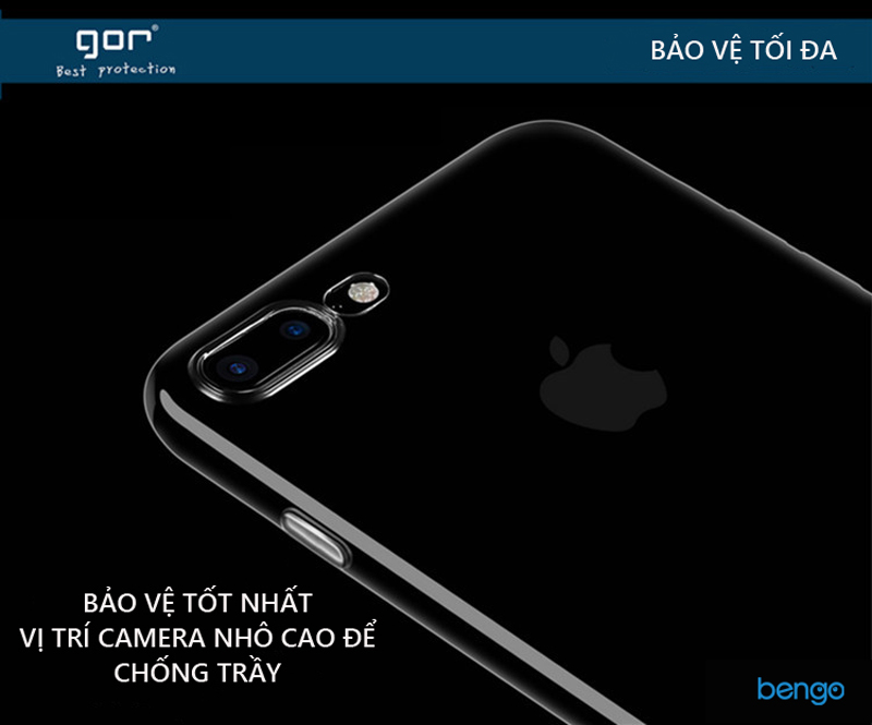 Ốp lưng Xiaomi Redmi 5 TPU dẻo siêu trong suốt GOR