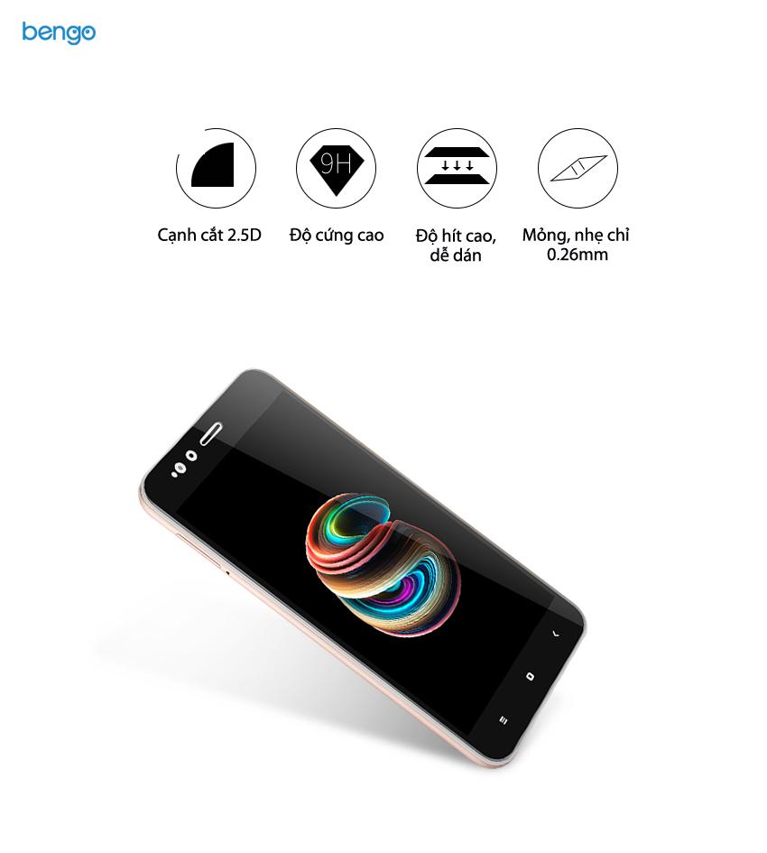 Dán màn hình cường lực Xiaomi Mi A1 Full màn hình