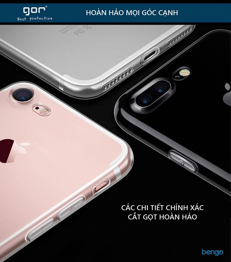 Ốp lưng Xiaomi Mi 5x TPU dẻo siêu trong suốt GOR