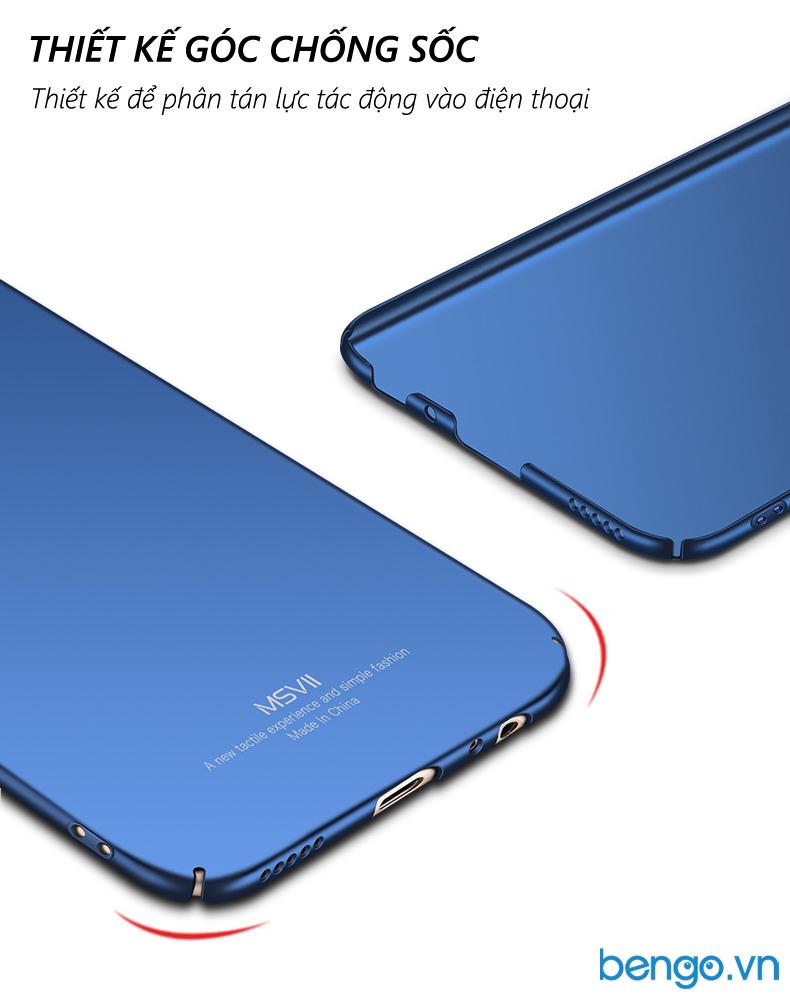 ốp lưng xiaomi mi 5x msvii nhựa polycarbonate siêu mỏng