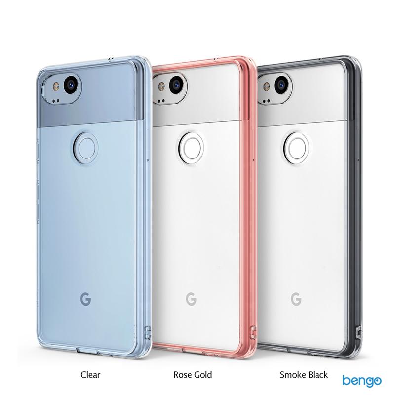 Ốp lưng Google Pixel 2 Ringke Fusion