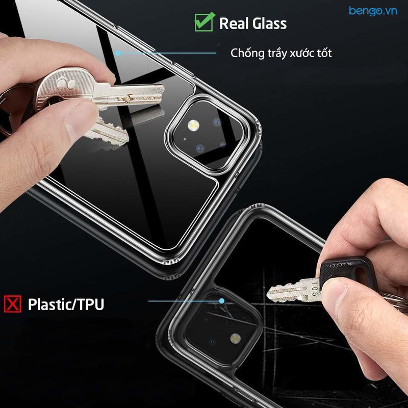 Ốp lưng Google Pixel 4 ESR Mimic Tempered Glass