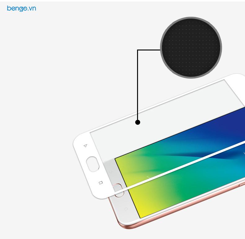 Dán màn hình cường lực OPPO F3 Lite Full màn hình