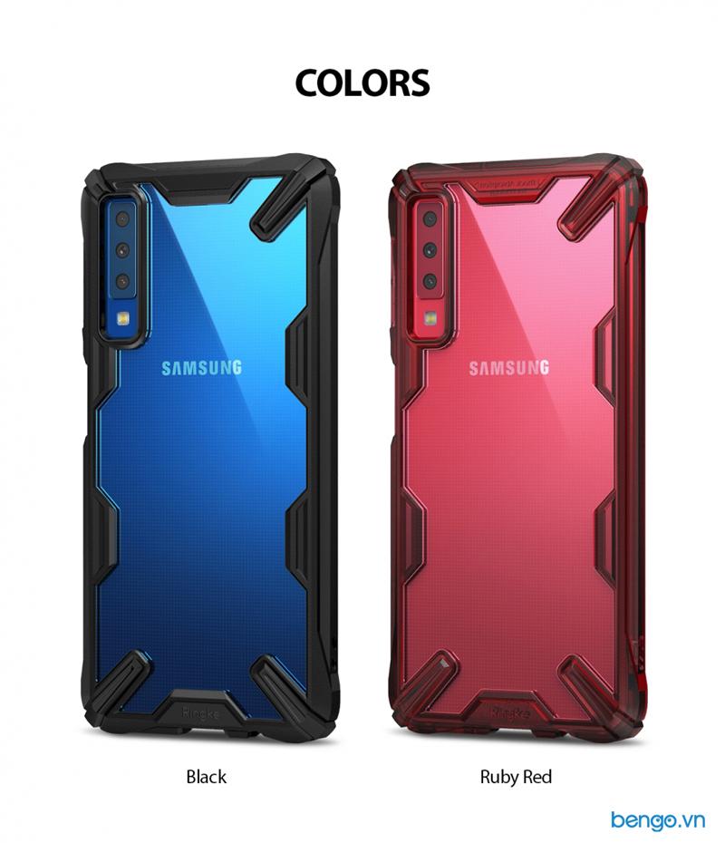 Ốp lưng Samsung Galaxy A7 2018 RINGKE Fusion X