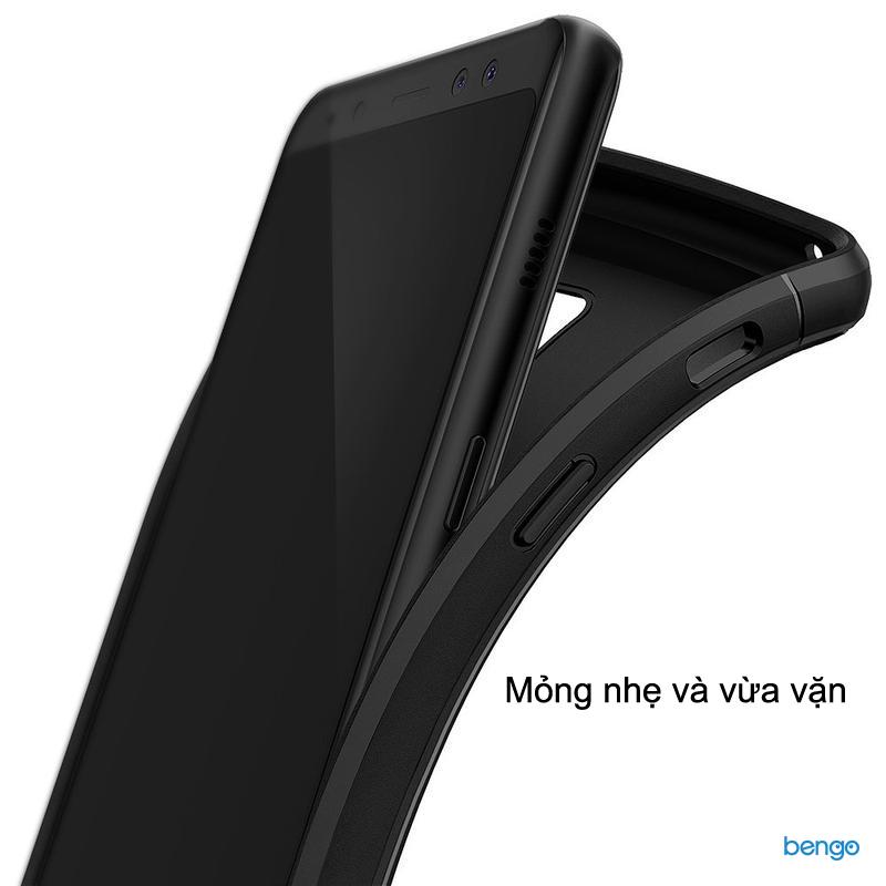 Ốp lưng Samsung Galaxy A8 (2018) Ringke Onyx
