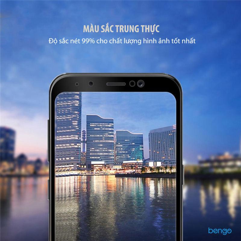 Dán cường lực Samsung Galaxy A8 Plus (2018) 3D Full màn hình