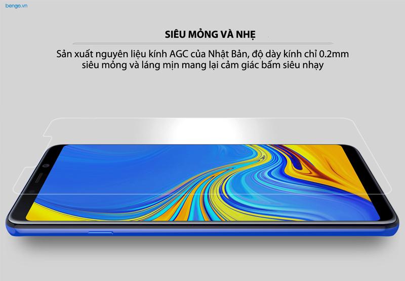 Kính cường lực Samsung Galaxy A9 2018/A9s/A9 Star Pro Nillkin Amazing H+Pro