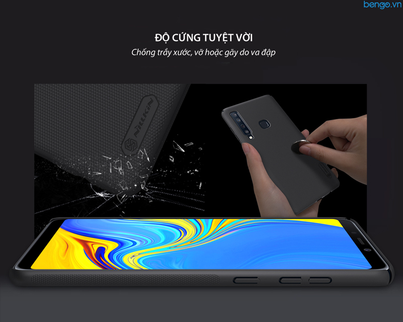 Ôp lưng Samsung Galaxy A9s/A9 Star Pro/A9 2018 Nillkin Super Frosted Shield