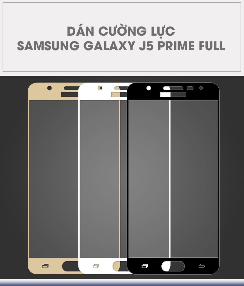 Dán cường lực Samsung Galaxy J5 Prime