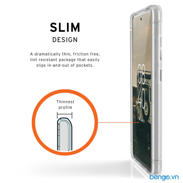 Ốp lưng Samsung Galaxy A72/A72 5G UAG Scout Series - Frosted Ice